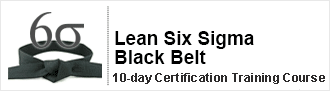 Lean Six Sigma Black Belt Certification Training Course from pd training