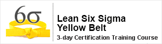 Lean Six Sigma Yellow Belt Certification Training from pdtraining in Melbourne, Perth